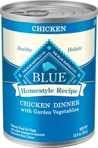Blue Buffalo Homestyle Recipe Chicken Dinner with Garden Vegetables & Brown Rice