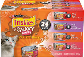 Friskies Extra Gravy Pate Variety Pack Canned Cat Food