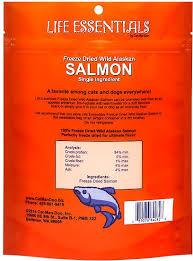 Life Essentials Wild Alaskan Salmon Freeze-Dried Cat & Dog Treats
