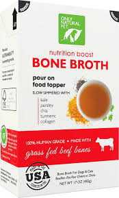 Only Natural Pet Grass-Fed Beef Bone Broth for Dogs & Cats
