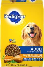 Pedigree Adult Complete Nutrition Roasted Chicken, Rice & Vegetable Flavor