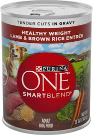 Purina One Smart Blend Tender Cuts in Gravy Lamb & Brown Rice Entree Adult