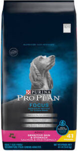 Purina Pro Plan Focus Adult Sensitive Skin & Stomach Salmon & Rice Formula