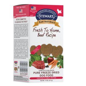 Stewart Raw Pure Beef Recipe Fresh to home beef recipe