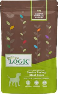 Nature's Logic Dog Turkey Meal Feast All Life Stages Dry Dog Food