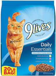 9 Lives Daily Essentials with Chicken, Beef & Salmon Flavor