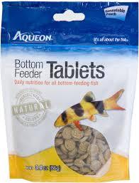Aqueon Tablets Bottom Feeder Fish Food