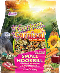 Brown's Tropical Carnival Gourmet Small Hookbill Bird Food