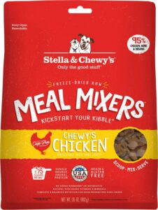 Chicken Meal Mixer Freeze-Dried Raw Dog Food Topper