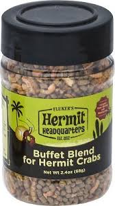 Flukers Buffet Blend Hermit Crab Food
