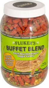 Fluker's Buffet Blend Veggie Variety Adult Bearded Dragon Food