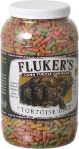 Fluker's Large Pellet Tortoise Diet Land Turtle Food
