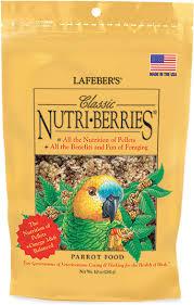 LafeBar's Classic Nutri-Berries Parrot Food
