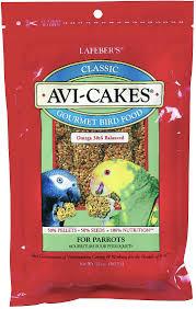 Lafeber Classic Avi-Cakes Parrot Bird Food