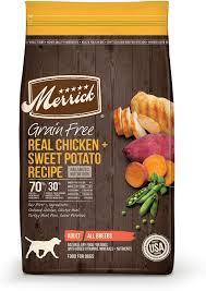 Merrick Grain-Free Chicken + Sweet Potato Recipe Dry Dog Food