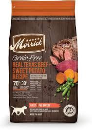 Merrick Grain-Free Texas Beef & Sweet Potato Recipe Dry Dog Food