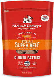 Super Beef Dinner Patties Freeze-Dried Raw Dog Food