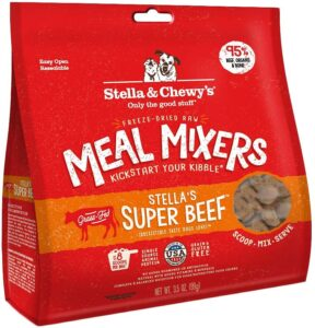 Super Beef Meal Mixer Freeze-Dried Dog Food Topper