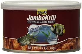 Tetra JumboKrill Freeze-Dried Shrimp Freshwater & Saltwater Fish Treats