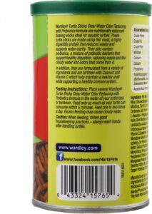 Wardley Clear Water Odor Reducing Probiotic Sticks Turtle Food