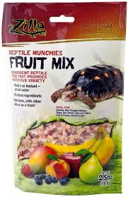 Zilla Reptile Munchies Fruit Mix Reptile Food