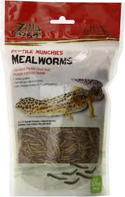 Zilla Reptile Munchies Mealworms Lizard Food