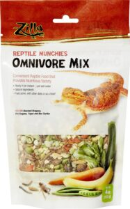 Zilla Reptile Munchies Omnivore Mix Lizard Food