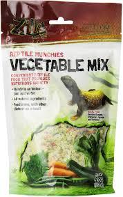 Zilla Reptile Munchies Vegetable Mix Lizard Food