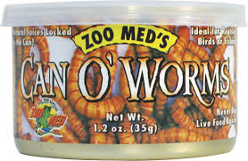 Zoo Med Can O' Worms Reptile & Fish Food