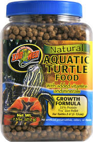 Zoo Med Natural Aquatic Growth Formula Turtle Food