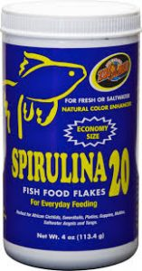 Zoo Med Spirulina 20 Fish Food