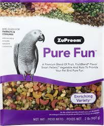 ZuPreem Pure Fun Enriching Variety Parrots & Conures Bird Food