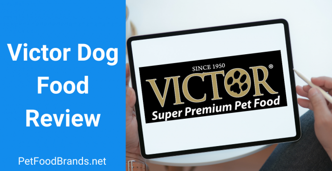 Victor dog food review