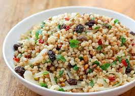 Can dogs eat Israeli Pearl couscous?